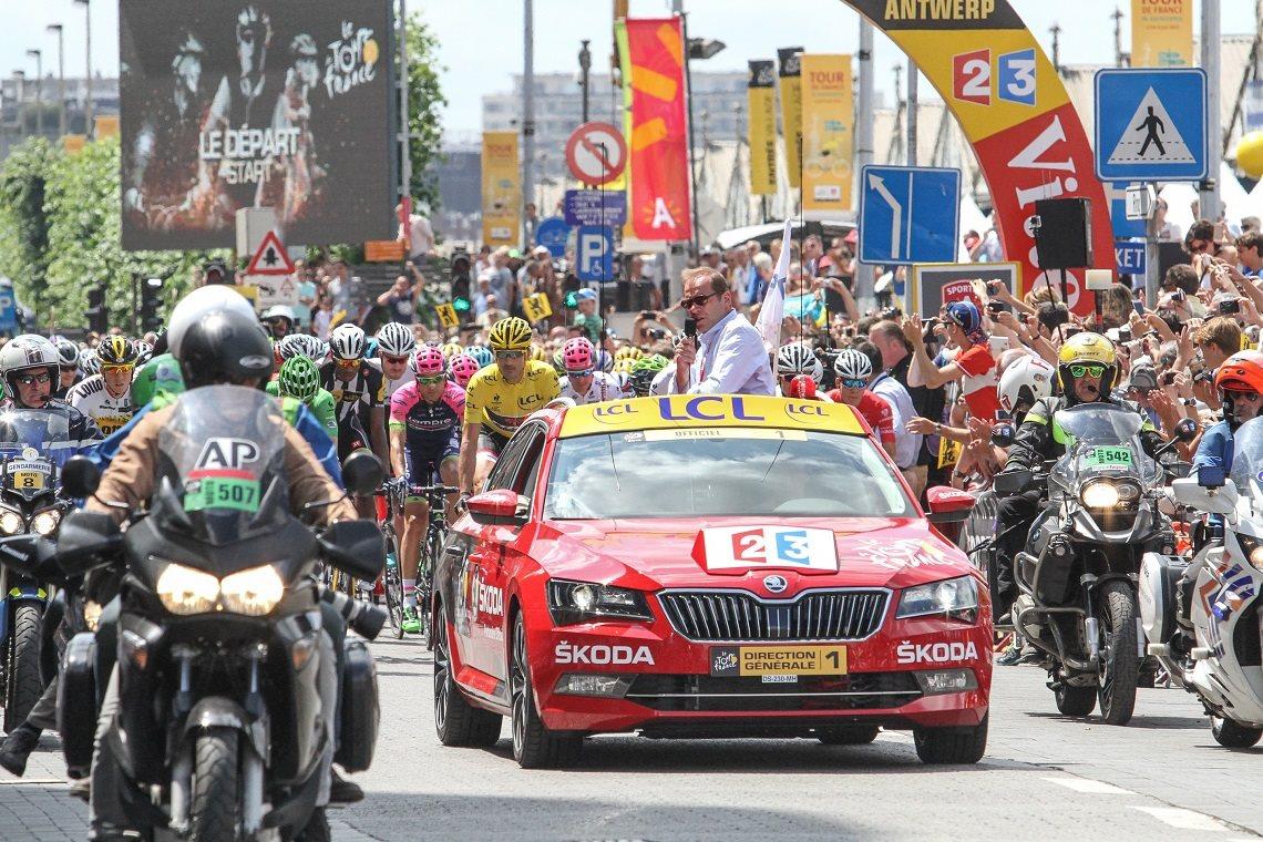 ŠKODA je pätnásty krát oficiálnym partnerom Tour de France