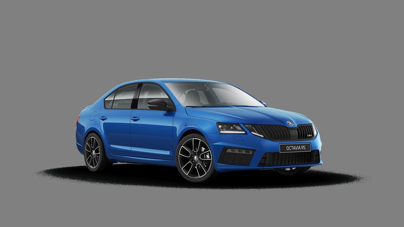Skoda Octavia RS Modra