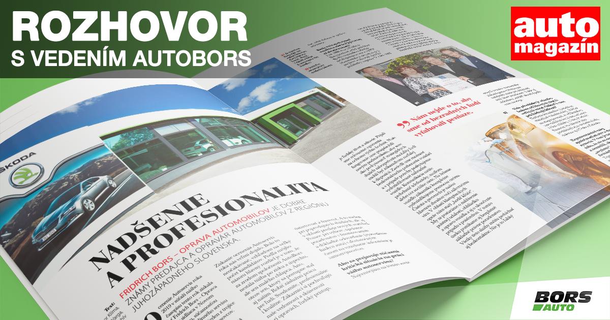 Automagazin: Rozhovor s vedenim AutoBors