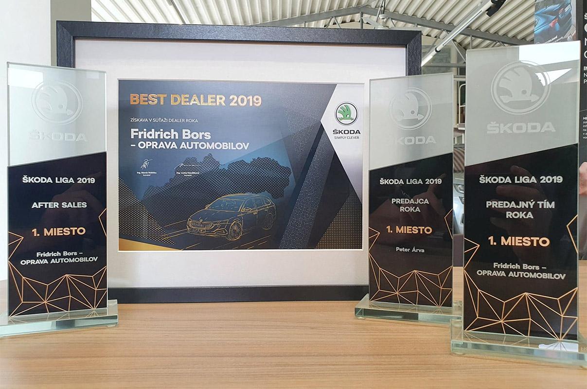 AutoBors je Best dealer roka 2019, Ďakujeme!